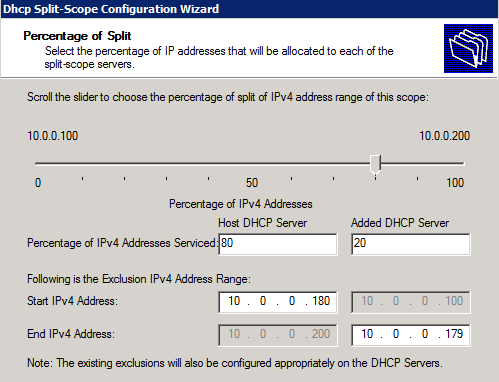 Configuring DHCP Split-scope in Server 2008 R2 - The Sysadmins
