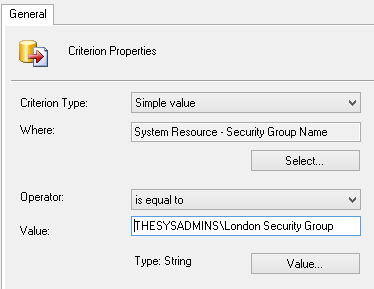 SCCM 2012 - Creating Device Collections - The Sysadmins