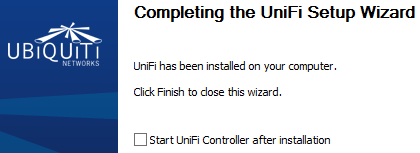 Unifi Wireless – 1  Installing the Controller - The Sysadmins